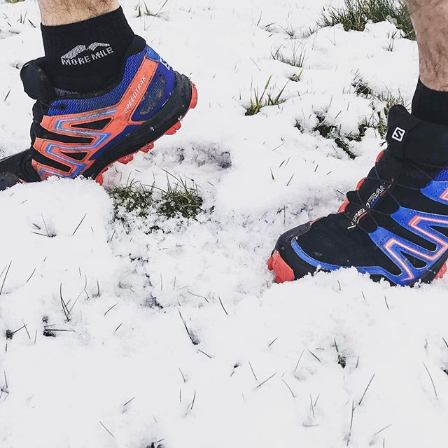 12in12 Whose had a fun run in the snow?