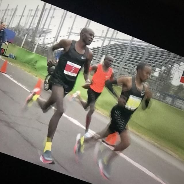 12in12 An outstanding achievement - @EliudKipchoge 2 hours 24 seconds