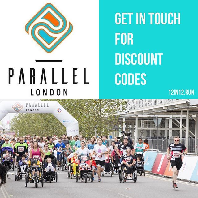 12in12 Get in touch for discount codes #parallellondon #12in12run