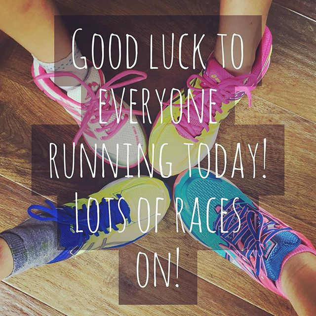 12in12 Good luck to everyone running today
