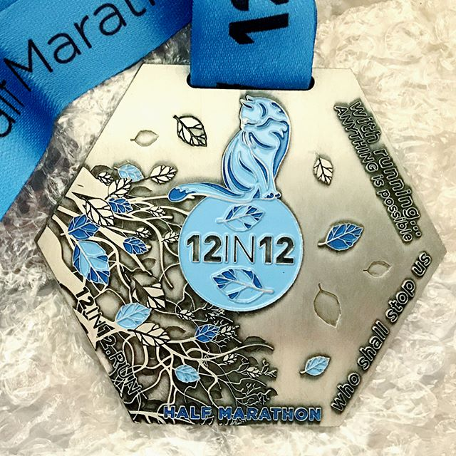 12in12 Exciting times continue at 12in12.run HQ with the arrival of the half marathon and 10k medals. See link in Bio to set your challenge and receive one of these fantastic medals