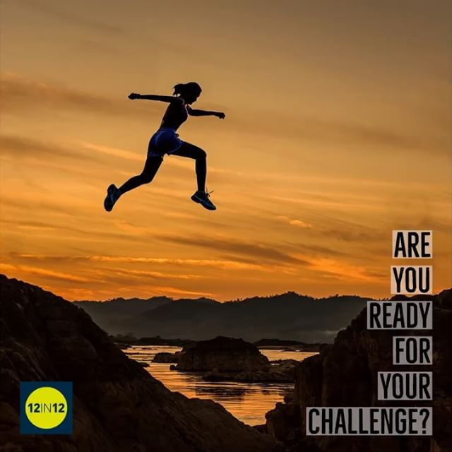 12in12 Are you ready for your challenge? 12in12.run Share the word!